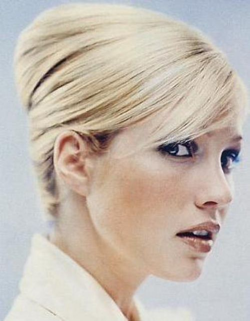 french twist blonde