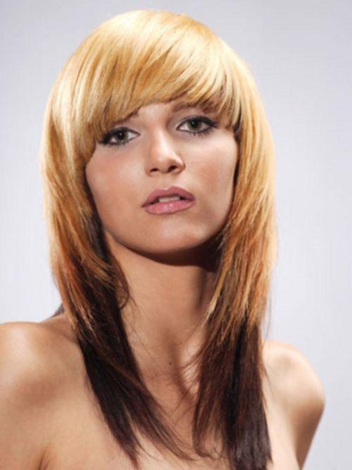 blonde long shag