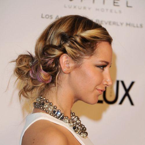 side twist braid teenage hair