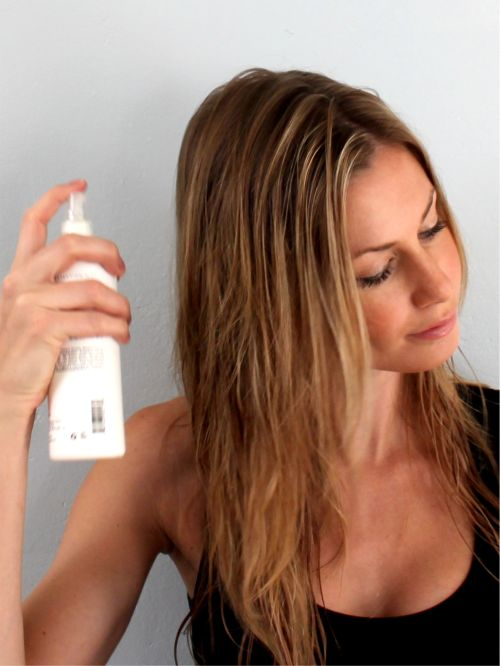 Allow Some Time for Hair Products to Set