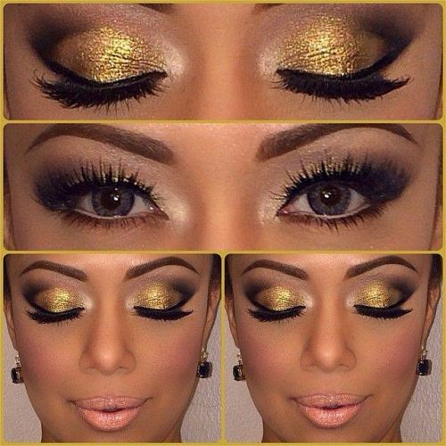 How To Wear Gold Eye Makeup 7 Ideas And Tutorial Videos