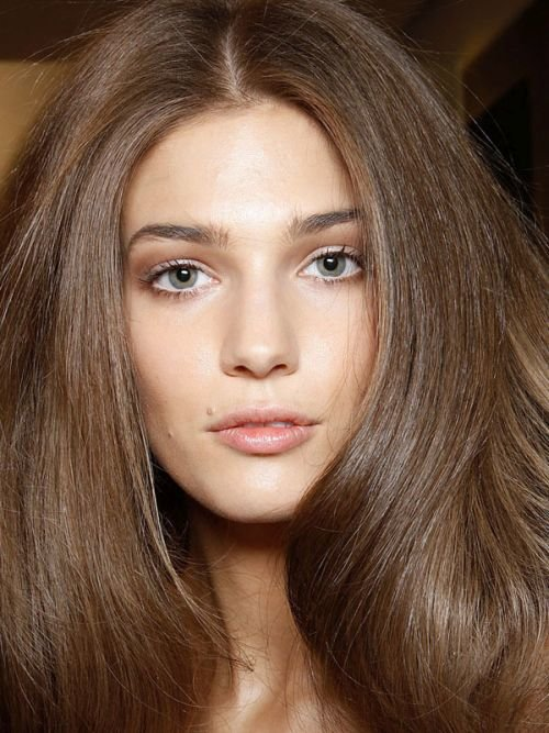 Blow drying heavy hair
