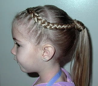 Braid on a Ponytail