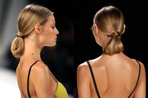 Classic Looped Ponytail