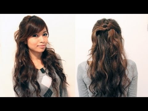 quick easy hairstyles long wavy hair download