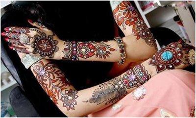 Embellished Full Arms