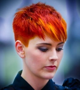 Faded Pixie Scene Hairstyle