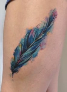 Feather Tatoos