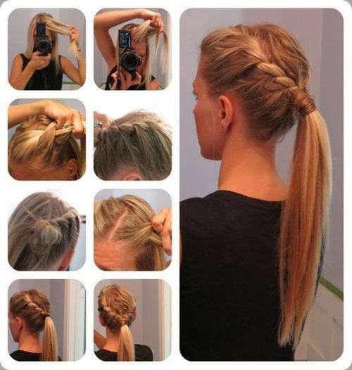 French-Braid-Pony