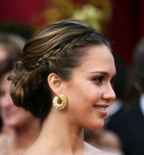 French-Braid-into-Bun