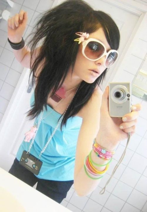 65 Emo Hairstyles for Girls: I bet you havent seen before - Emo Hairstyle
