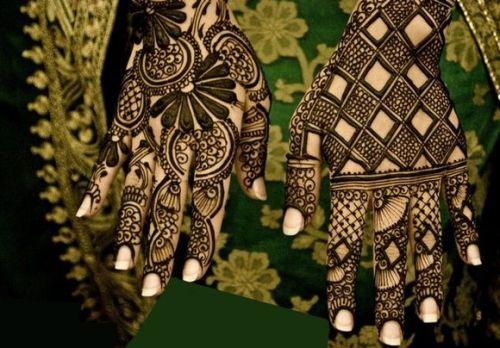 Geometric Arabic Design for Hands