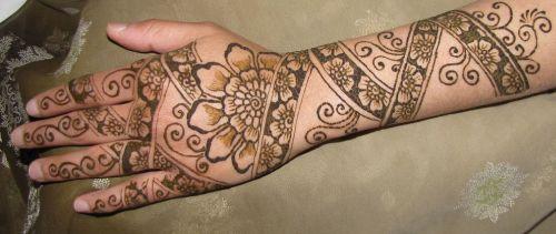 Half Arm Vertical Pattern
