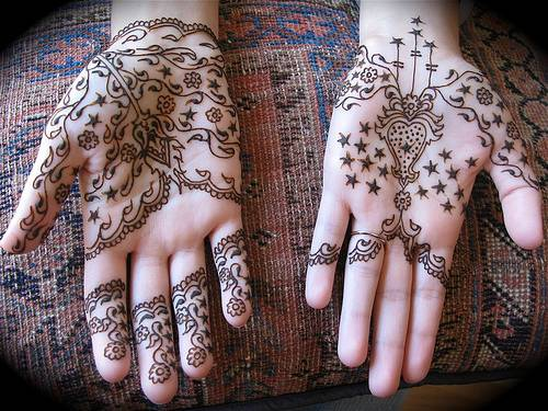 Mehndi For Teenage Girls : Easy and enthralling arabic mehendi designs the best of 28 weetnow