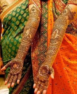Indian Bridal Mehndi Design