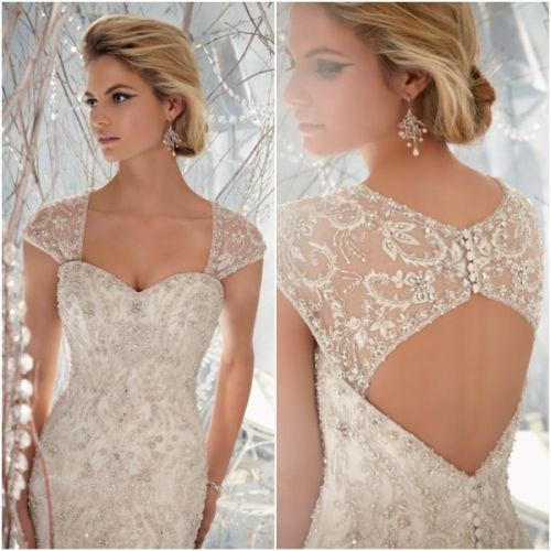 Intricate Embroidered Back