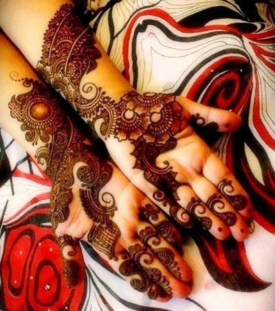 Magnificent Mehndi Scrawls
