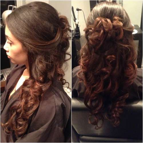Fabulous 59 Sweet Prom Hairstyles For Black Girls Down Amp Side Prom Hairstyle Inspiration Daily Dogsangcom