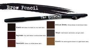 Selection of Brow Pencil