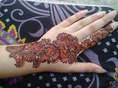Mehndi Patterns For Girls : 40 mehandi designs for hands to look unique