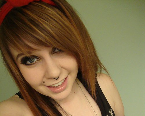 Awe Inspiring 50 Emo Hairstyles For Girls I Bet You Haven39T Seen Them Before Short Hairstyles For Black Women Fulllsitofus