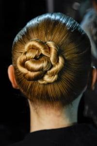 Sleek Twisted Bun