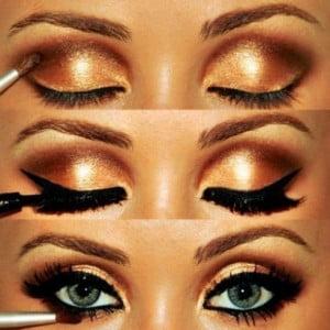 Smokey Gold Eyes