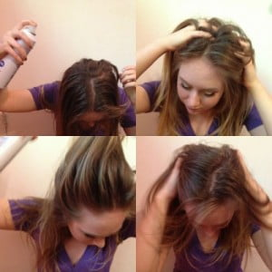 Using Dry Shampoo to Style Your Hair