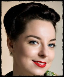 Vintage Style Up Do