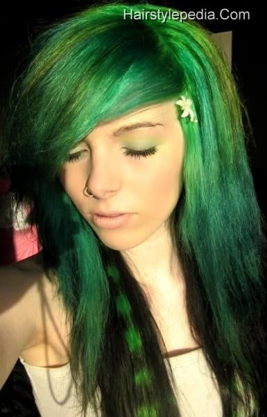 Stupendous 50 Emo Hairstyles For Girls I Bet You Haven39T Seen Them Before Short Hairstyles Gunalazisus