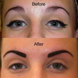 tatto of eyebrow cost