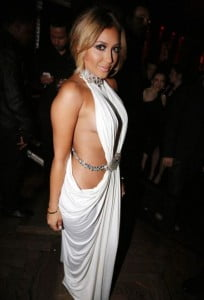 Adrienne Bailon on her 30th birthday party