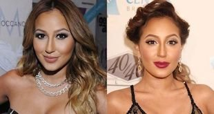 adrienne bailon before and after