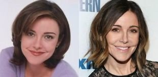 christa miller before and after