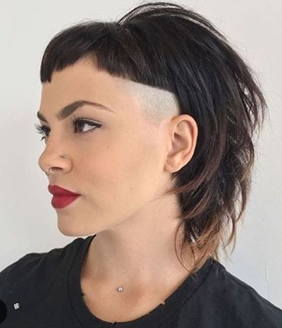 83 latest layered hairstyles for short medium and long hair corner shaved layered haircut urmus Gallery