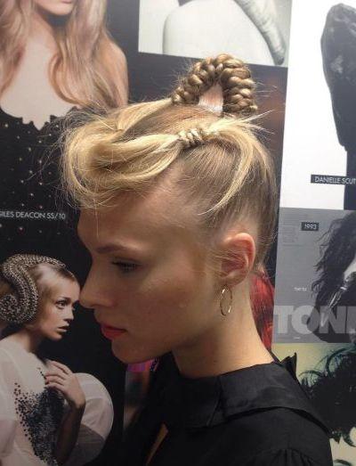 Creative braids for thin hair
