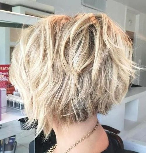 hairstyles layered bob - photo #18