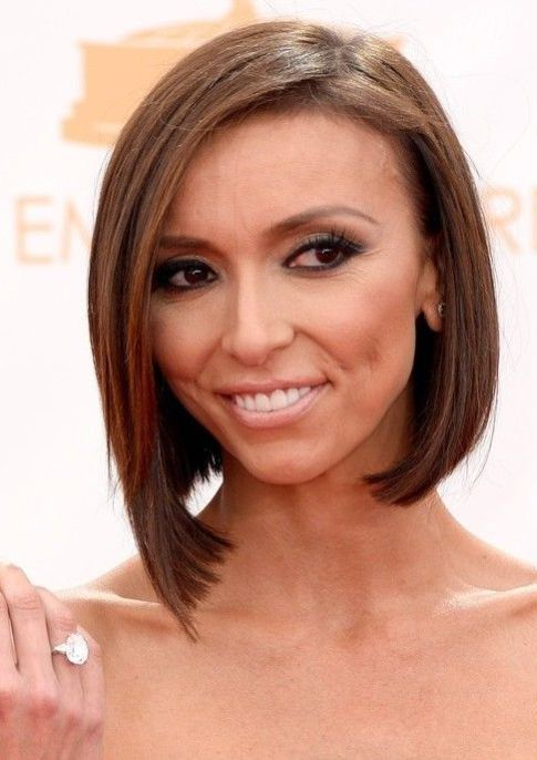 Giuliana Rancic's Asymmetrical Long Bob