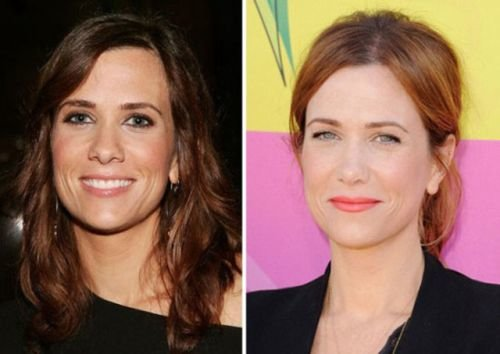 Kristen Wiig nose job photo
