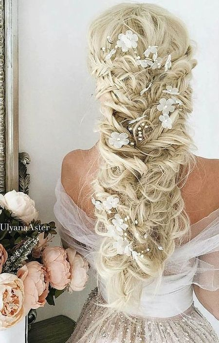Off Shoulder Wedding Hairstyles 2016