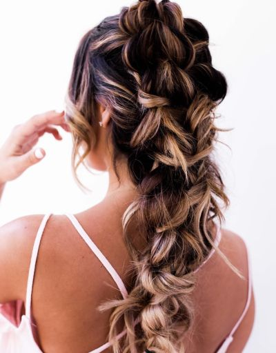 Miraculous 70 Cute French Braid Hairstyles When You Want To Try Something Short Hairstyles For Black Women Fulllsitofus