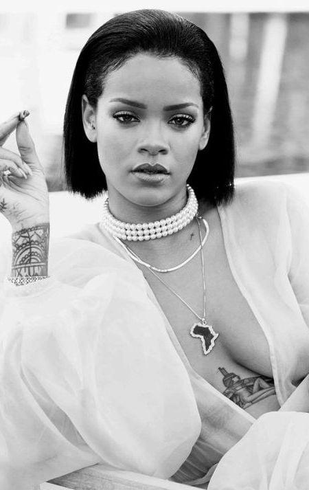 Rihanna Haircut 2016