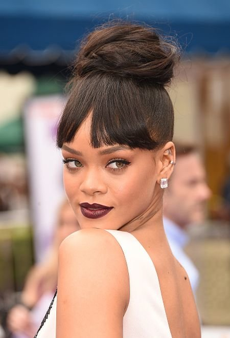 37 Wedding Hairstyles For Black Women To Drool Over 2017: 51 Top Rihanna Hairstyles That Are Worth Trying For Every Girl