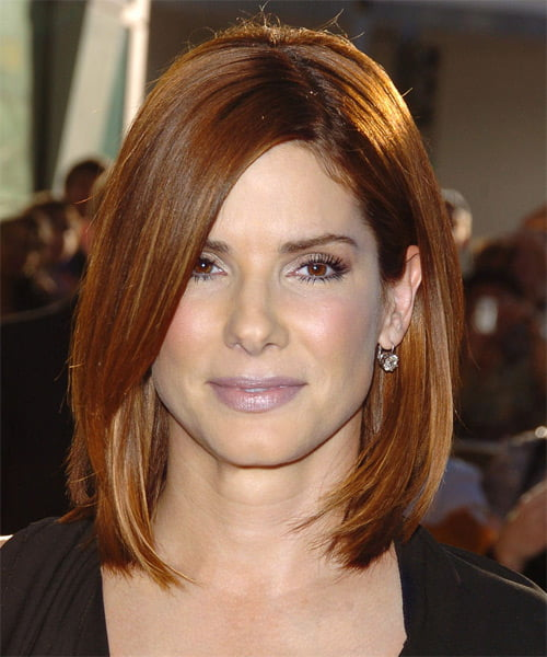 sandra bullock medium bob hair
