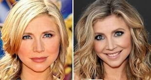 sarah chalke before and after