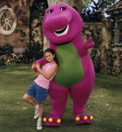 Selena in Barney and Friends Series