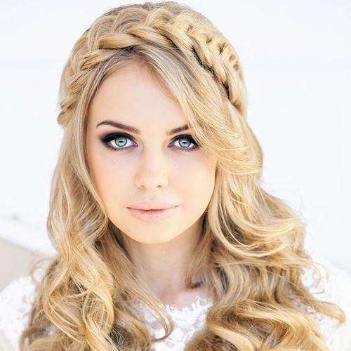 vintage prom hairstyles : 73 Unique Wedding Hairstyles For Different Necklines 2016