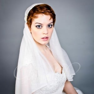 adore pixie with veil