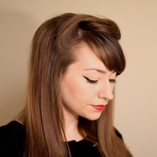 a little height vintage hair