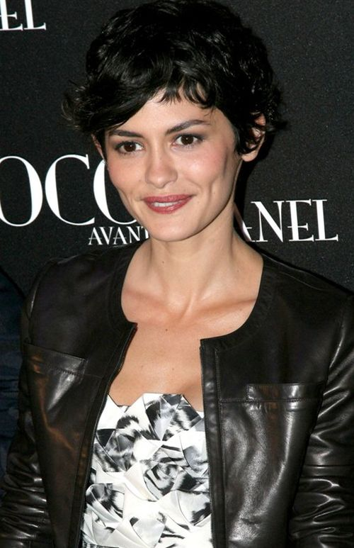 audrey tautou growing pixie